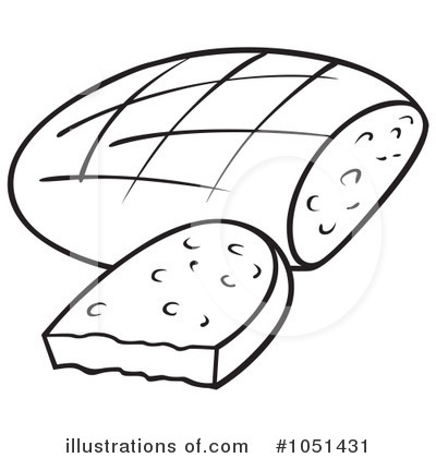 Bread clipart illustration Bread Royalty by (RF) #1051431