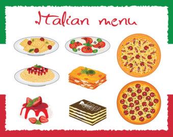 Pasta clipart italy food Clipart Use lasagna italian Etsy