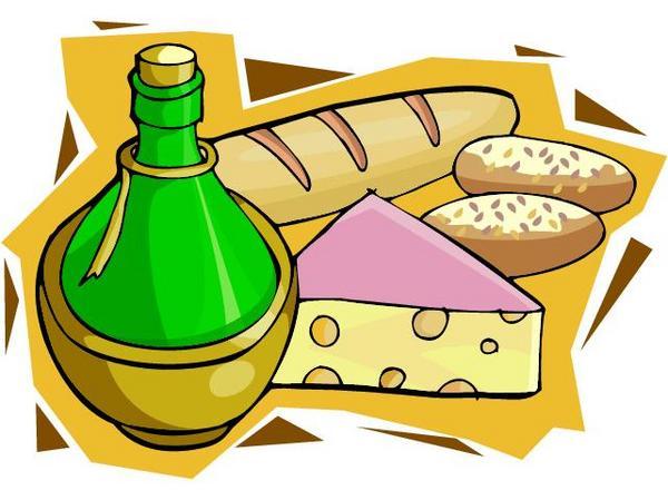 Wine clipart italy Bread Clip Art Free clipart