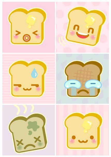 Bread clipart kawaii Kawaii Clipart more Pin Clipart