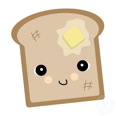 Bread clipart kawaii More! toast Clipart Background cute