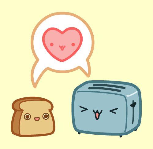 Bread clipart kawaii Nickbachman com Love and ideas