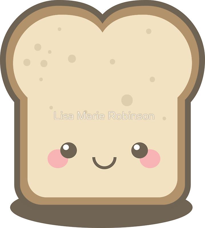 Bread clipart kawaii By Marie of Kawaii Bread
