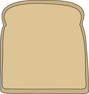 Toast clipart slice bread Collection Peanut clip of