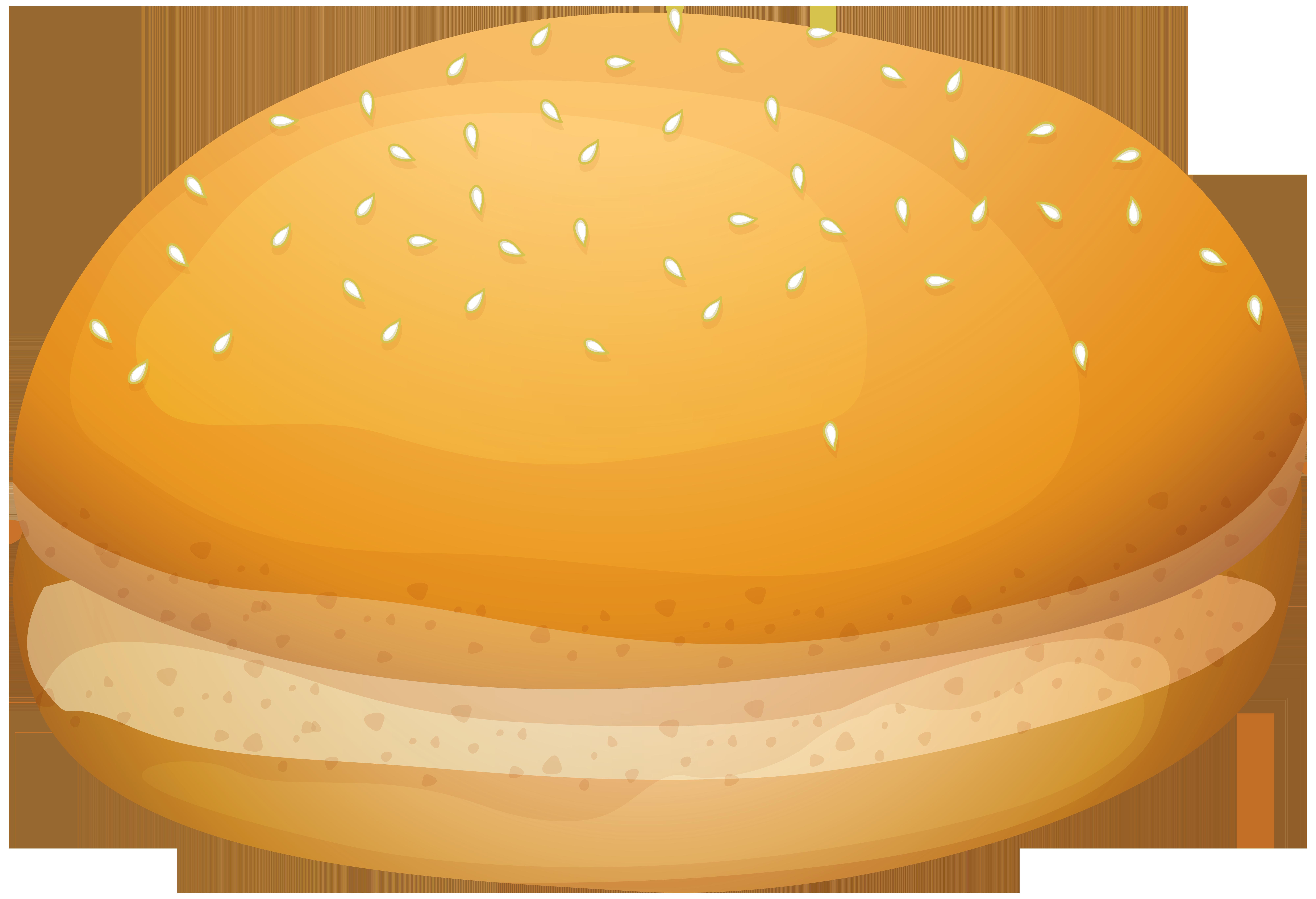 Bread clipart oval WEB PNG Bread Burger PNG