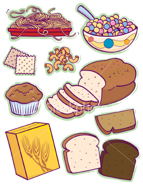 Bread clipart pasta and Group and food grains clipart