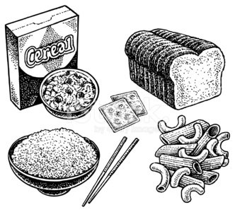 Bread clipart pasta and Download Carbohydrates Are Clip Carbohydrates