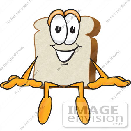 Bread clipart piece bread Of mascot art 27518 graphic