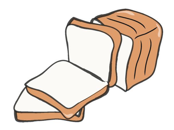 Bread clipart piece bread Slice – slice Clipart bread