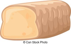 Bread clipart sad Loaf with Vector Art of