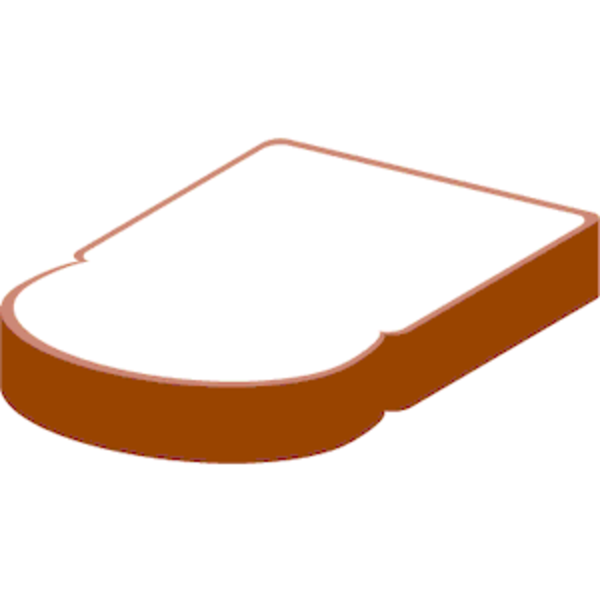 Bread clipart slice bread Image Free Download this as: