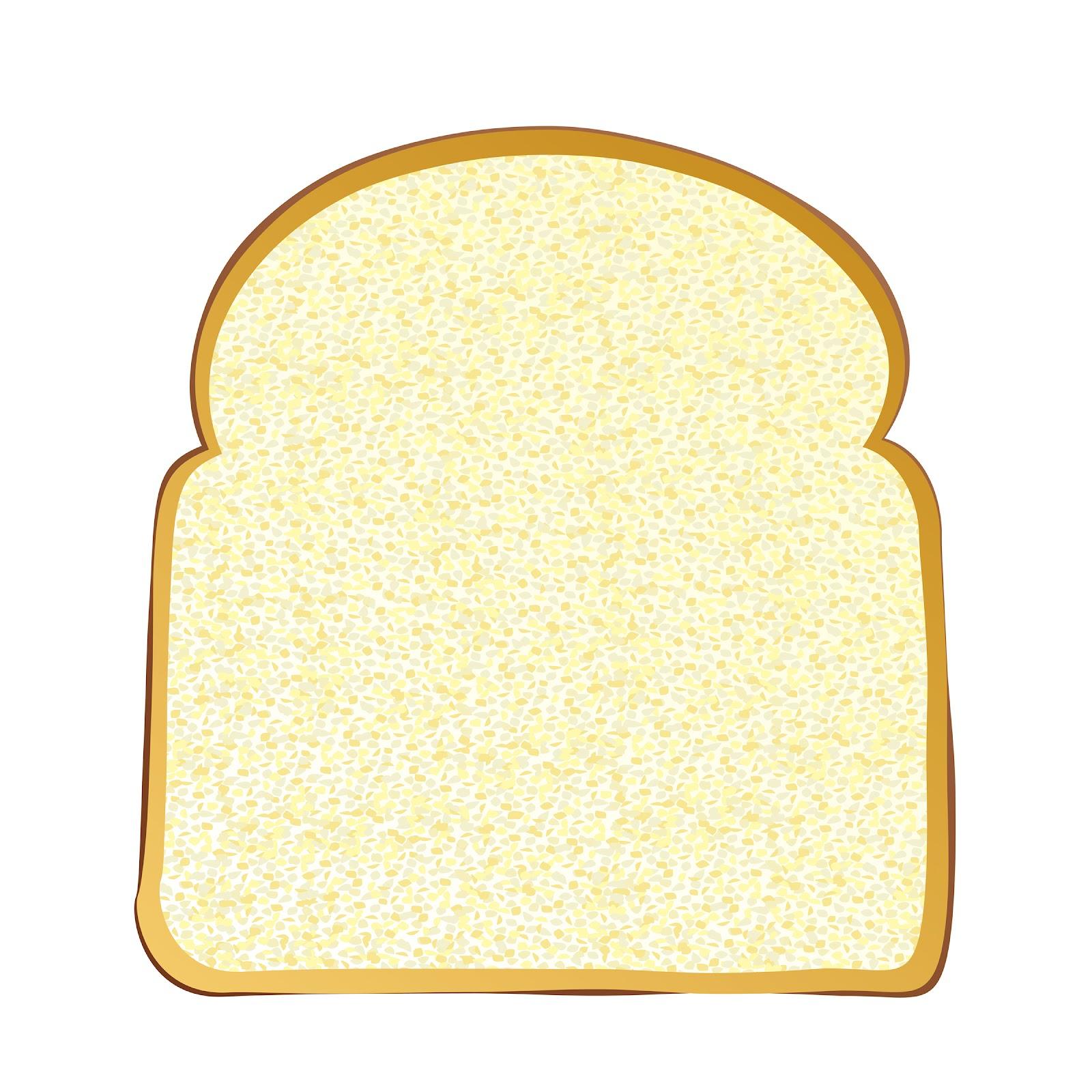 Toast clipart slice bread Bread knife slice template knife