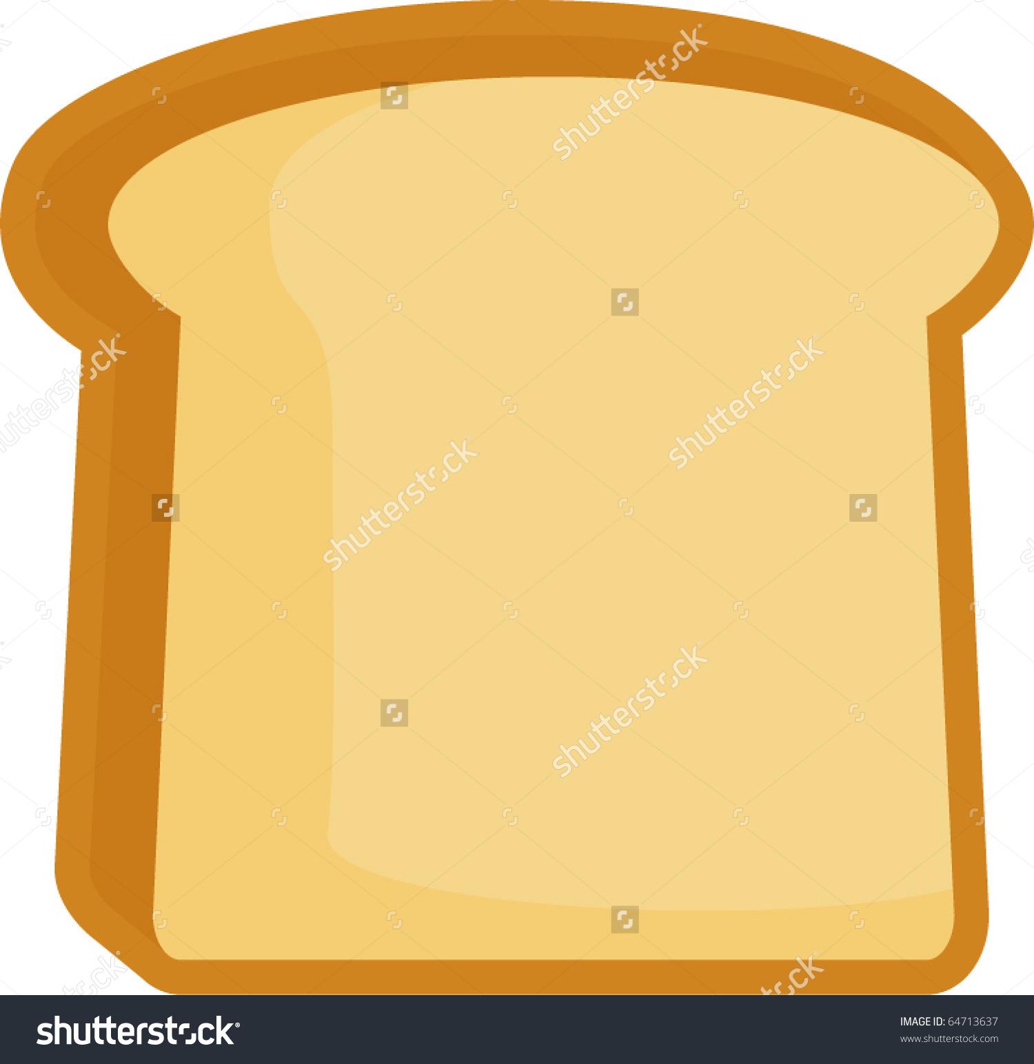Toast clipart slice bread Slice Slice  bread Bread