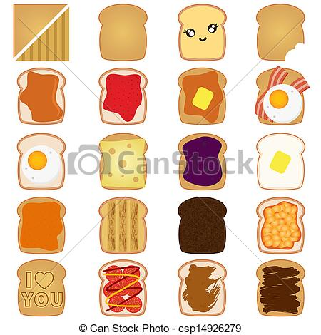 Bread clipart toasted bread Bread Illustration Brown with toast