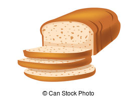 Bread clipart vector Vector Vector Artby white Royalty