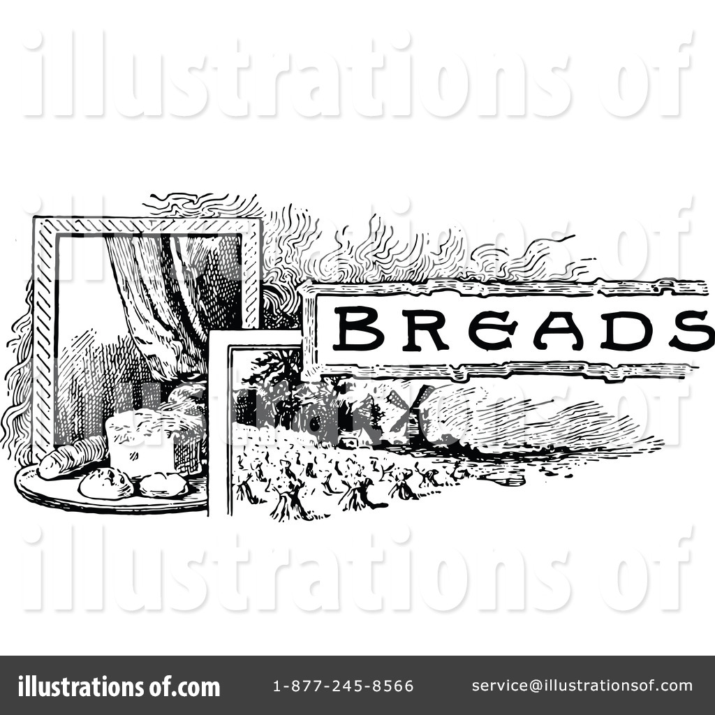Bread clipart vintage Royalty Illustration Prawny by #1118682