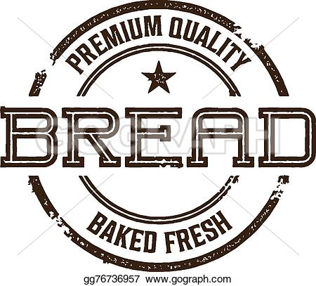Bread clipart vintage Vector style Vector and Vector