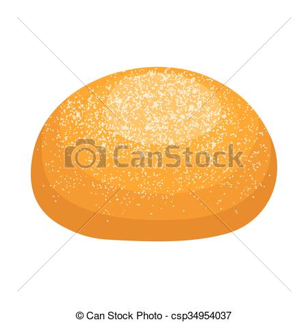 Bread Roll clipart silhouette Seeds icon Round bread bread