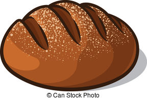 Bread Roll clipart artisan White  a Loaf and