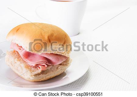Bread Roll clipart bap Close up dri bread or