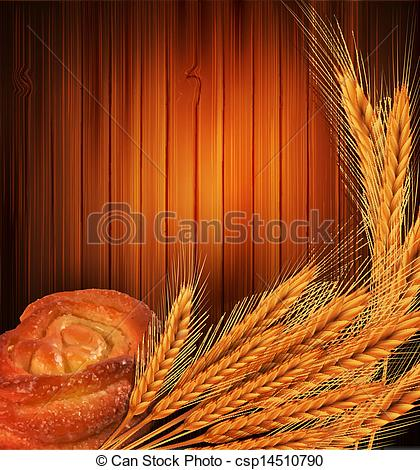 Bread Roll clipart bread life Vector wheat roll Instant Download