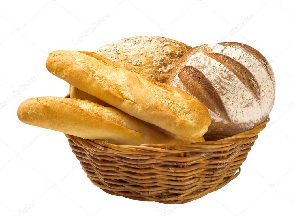 Bread Roll clipart canasta Empty White Basket Fruit