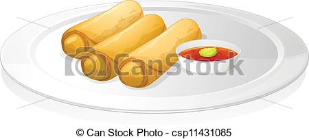 Drawn bread Sauce of csp11431085 roll sauce