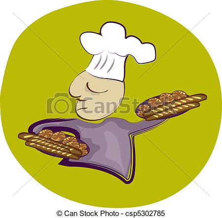 Bread Roll clipart french food French Baker Baker csp5302785 trays