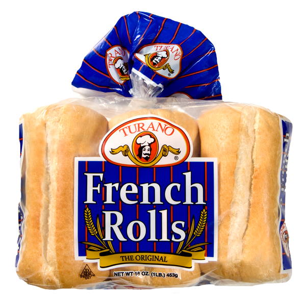 Bread Roll clipart french food  Sandwich Rolls Turano Archives