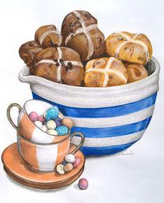 Bread Roll clipart hot cross buns Cross BunFood https://static cntraveller Hot