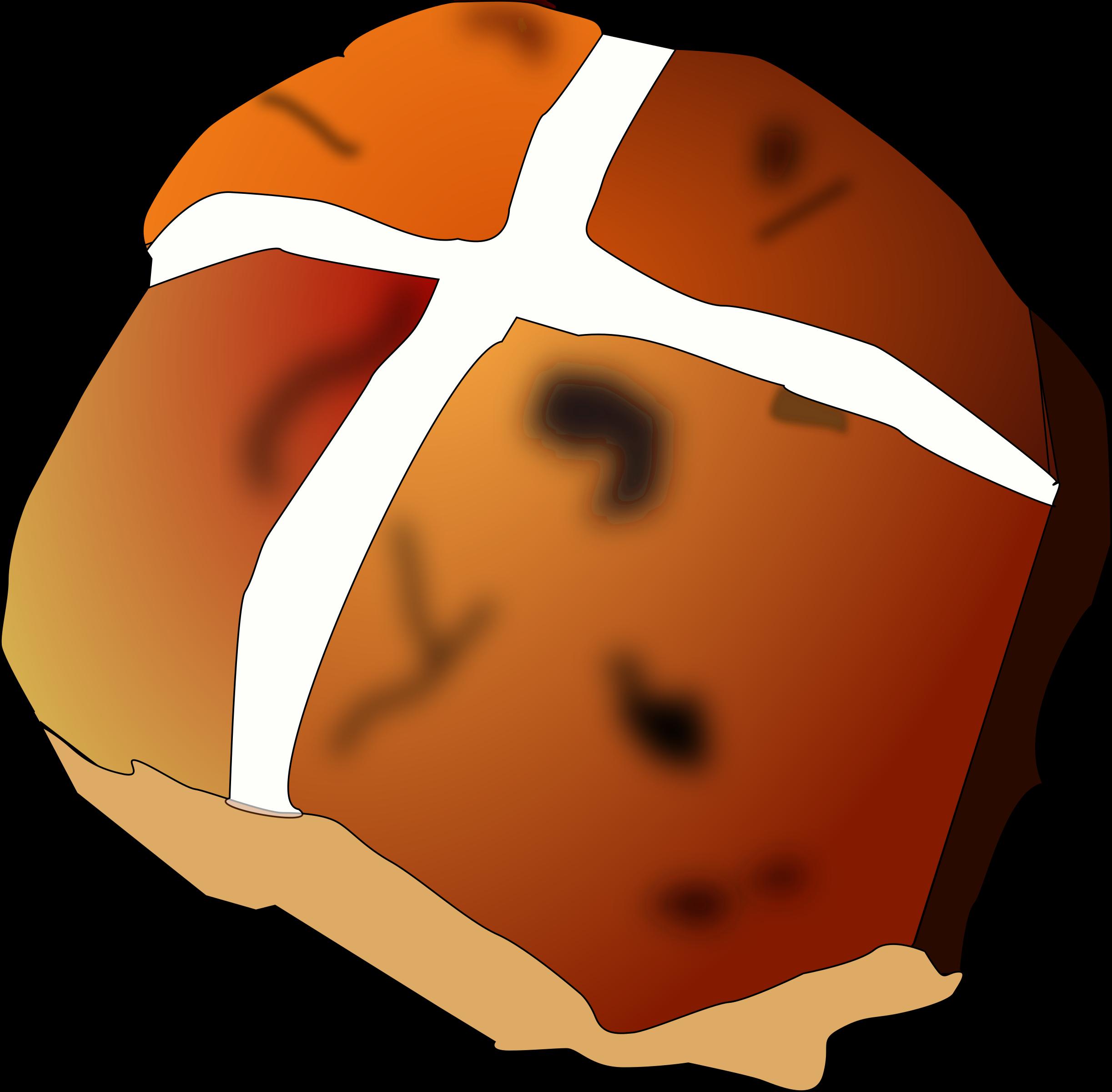 Bread Roll clipart hot cross buns Bun by tom Clipart cross