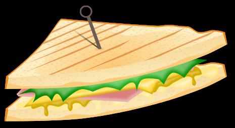 Grilled Cheese clipart cartoon Clipart Panda Free sandwich Sandwich