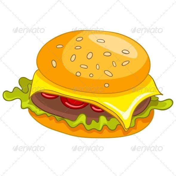 Burger clipart thin Clip Best images 17 about