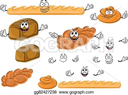 Bread Roll clipart sketch Drawing healthy design bakery seeds