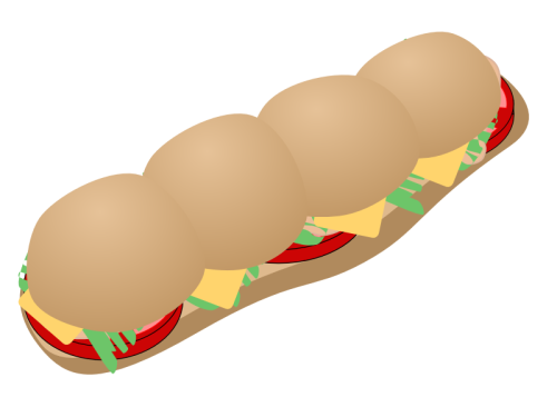 Bread Roll clipart sub sandwich Of Clipart Free Free Art