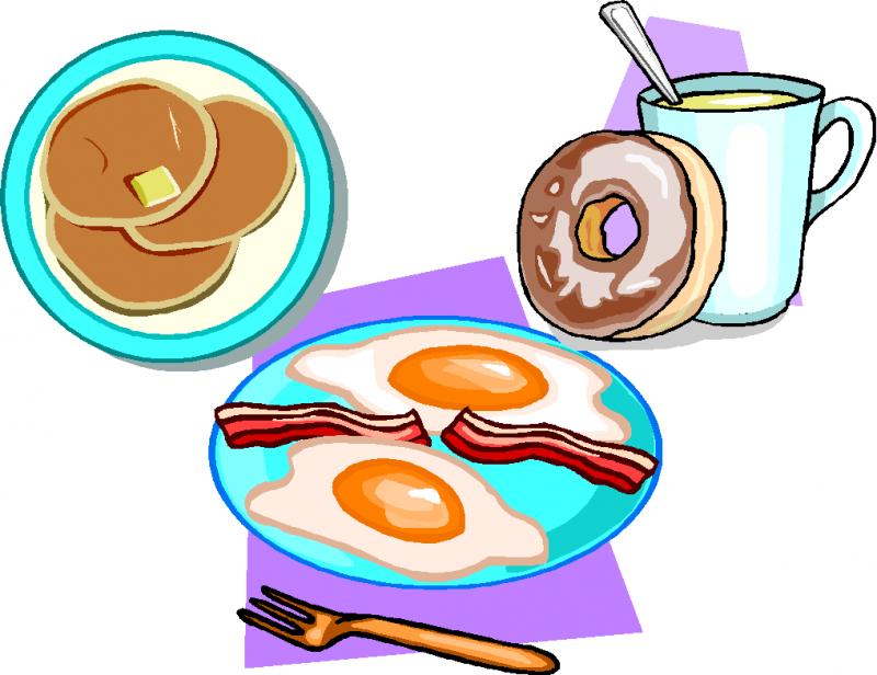Women clipart breakfast #12