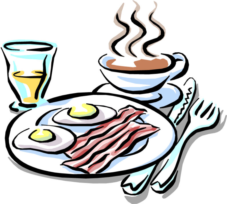 Rooster clipart breakfast #7