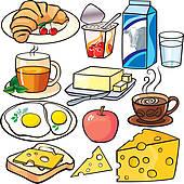 Breakfast clipart Breakfast Art Clip Free GoGraph