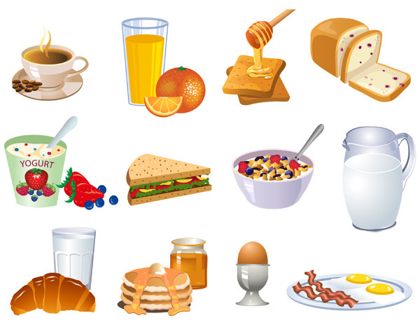 Breakfast clipart cold food Free breakfast%20clipart Breakfast Panda Clipart