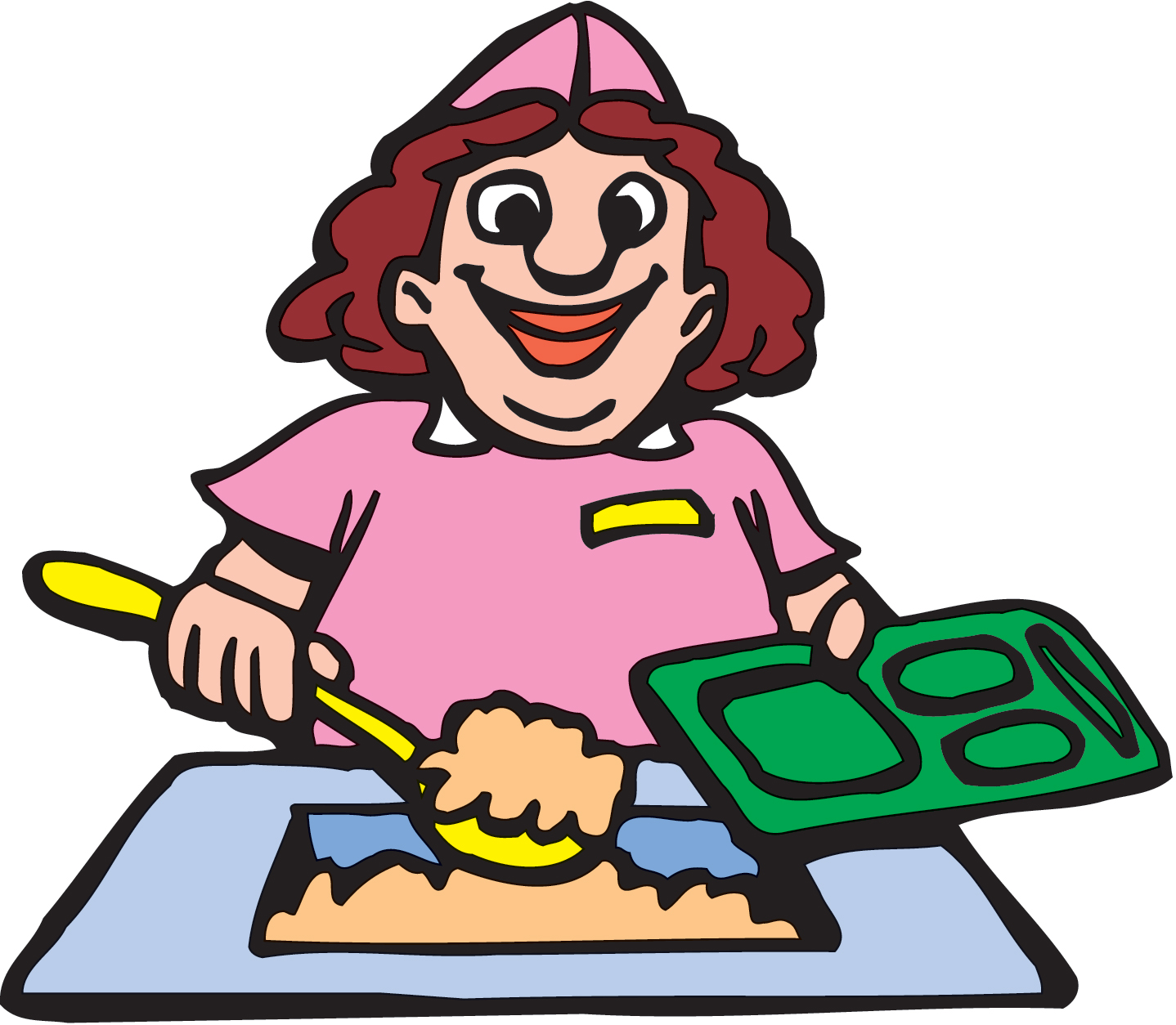 Diner clipart cartoon Free food clipart Clipart Clipart