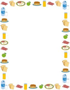 Pizza clipart page border Borders Shafique this on Border