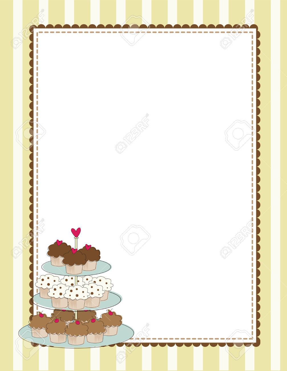Breakfast clipart boarder Muffin Borders Muffin cliparts Clipart