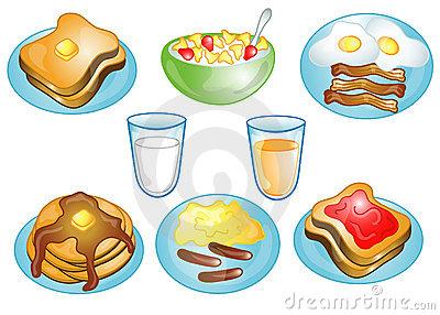 Grain clipart breakfast item Food Clipart clip art Breakfast