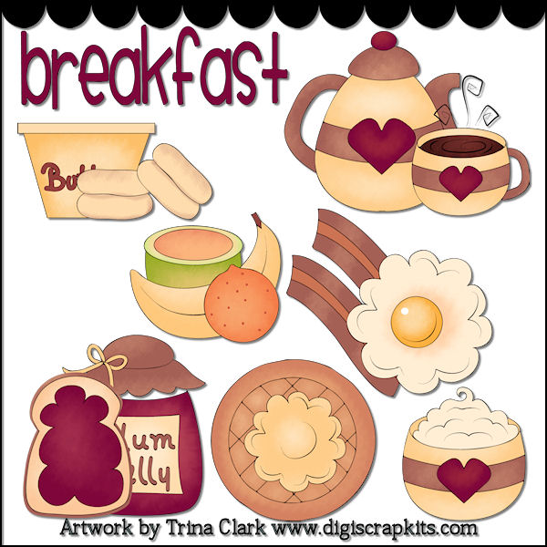 Breakfast clipart breakfast time : Art Art Breakfast &