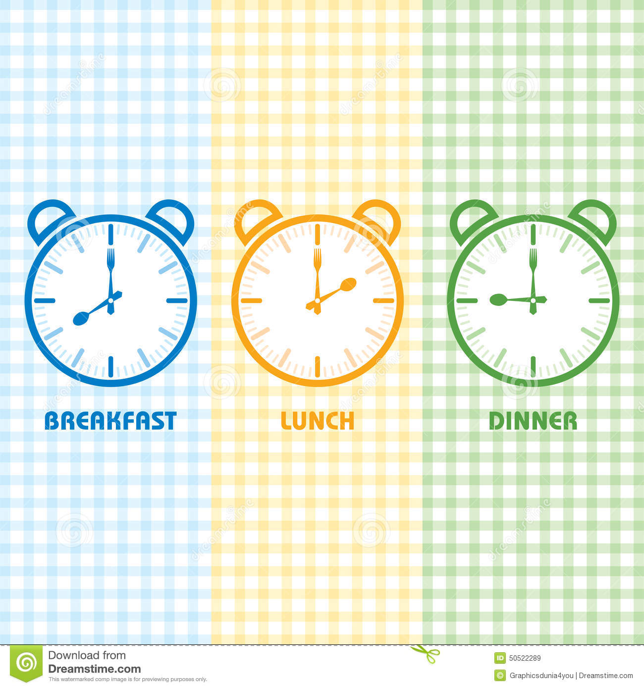 Breakfast clipart breakfast time Dinner and Breakfast collection lunch