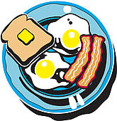 Cereal clipart breakfast plate Cafe Clipart Panda Clipart Building