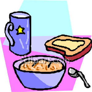 Breakfast clipart ceral Breakfast Clip Clipart Art Download
