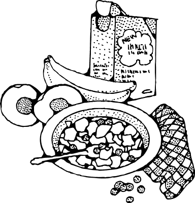 Breakfast clipart ceral Cereal Clipart Public Free Domain