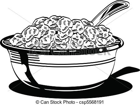 Drawn spoon victorian Clipart milk  collection Breakfast