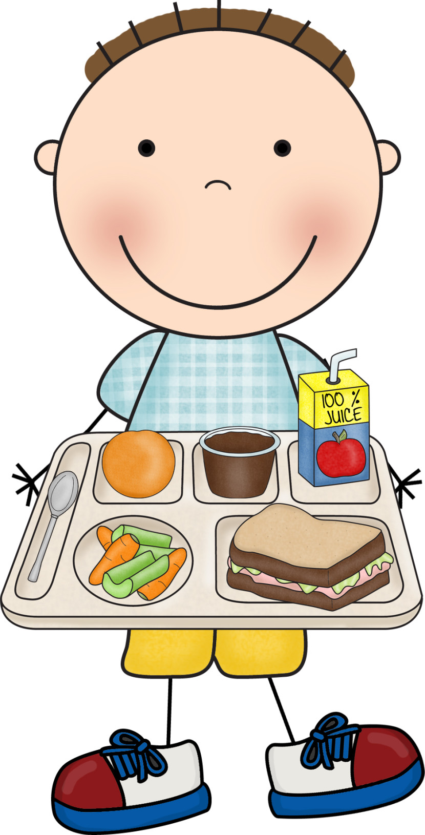 Breakfast clipart child nutrition At eating school Clipart collection